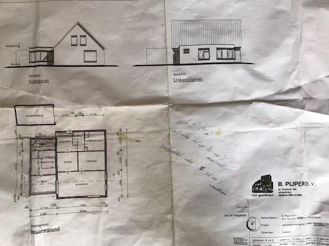 Aanbouw woning Scheemda april 2017 | Aannemingsbedrijf Pijper ...
